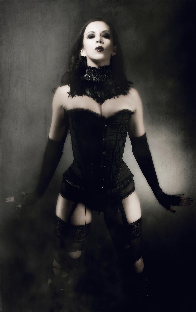 clothing styling by me...mua mac Apr 22, 2012 dividing me. kerri taylor goth corset