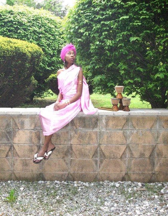 Female model photo shoot of Slym Nubain