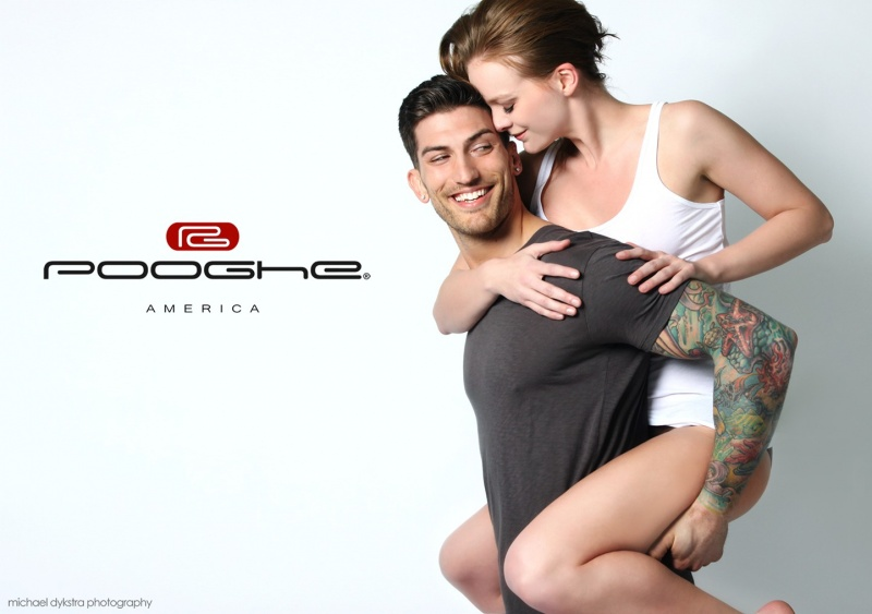 Male and Female model photo shoot of Pooghe, Kj. and Adam Von Rothfelder by Michael -Muze Mag- Dee in Madison, WI