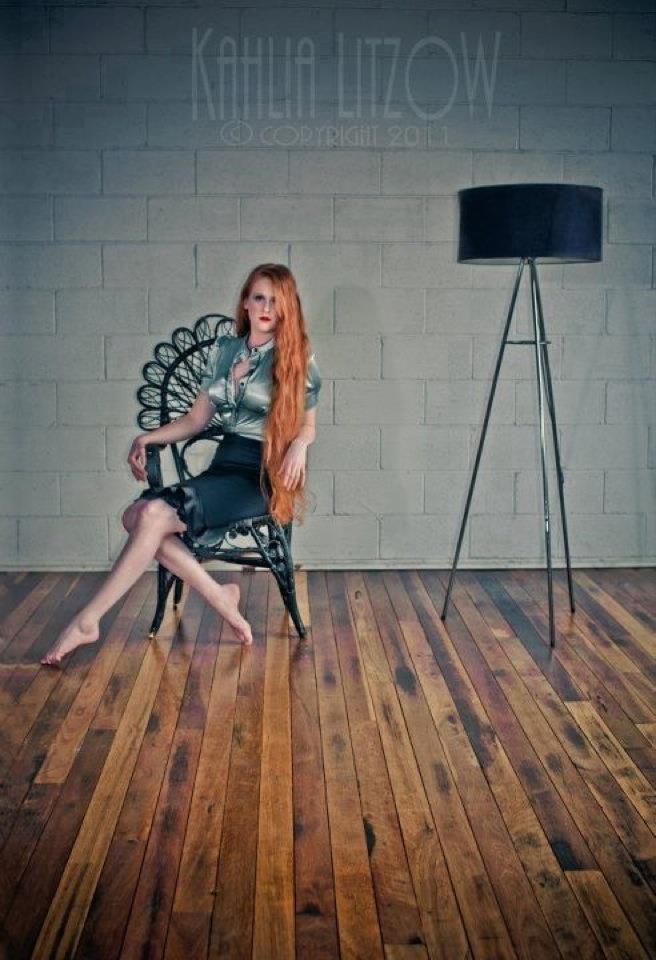 Female model photo shoot of Red Devotchkin by Kahlia Litzow