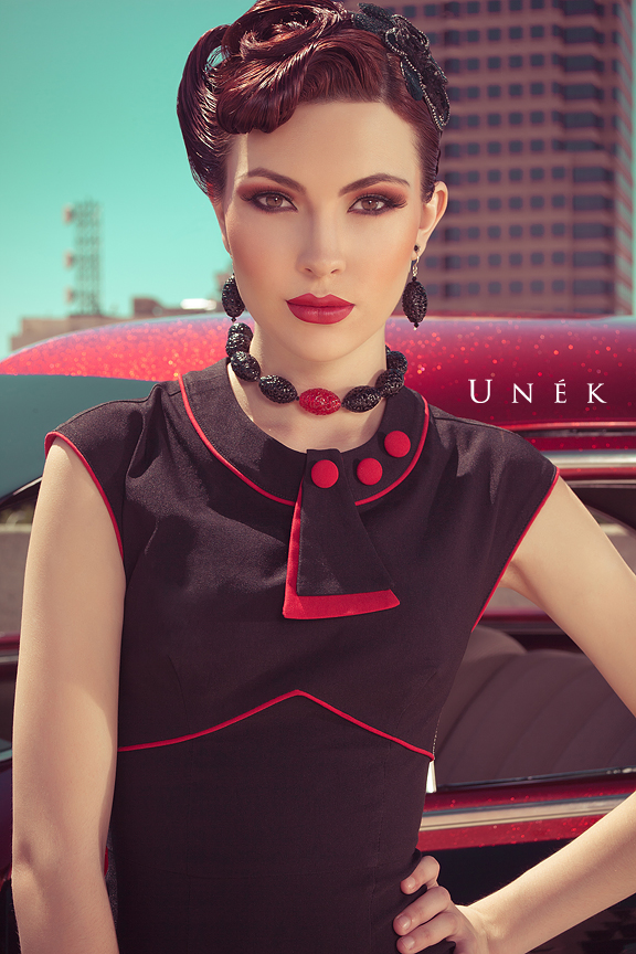 Female model photo shoot of BrittanyDale by Unek Francis, makeup by Dina DeVore