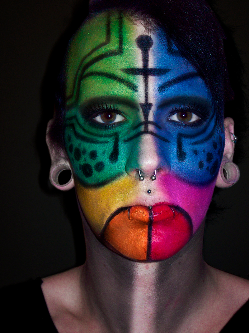 Apr 30, 2012 Rainbow Tribal Warrior
