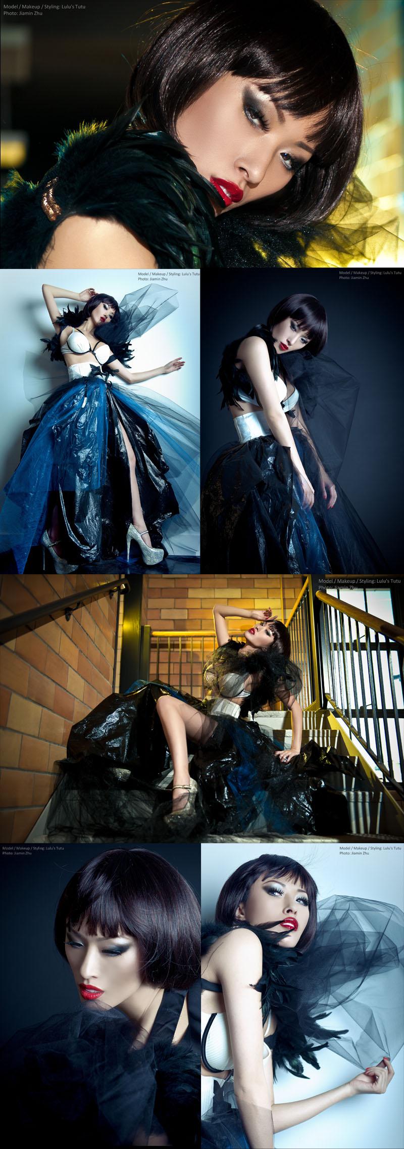 Apr 30, 2012 JaJasGarden Trashy Couture