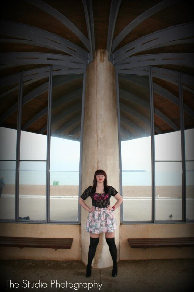 Female model photo shoot of TrishaK in Dover Beach