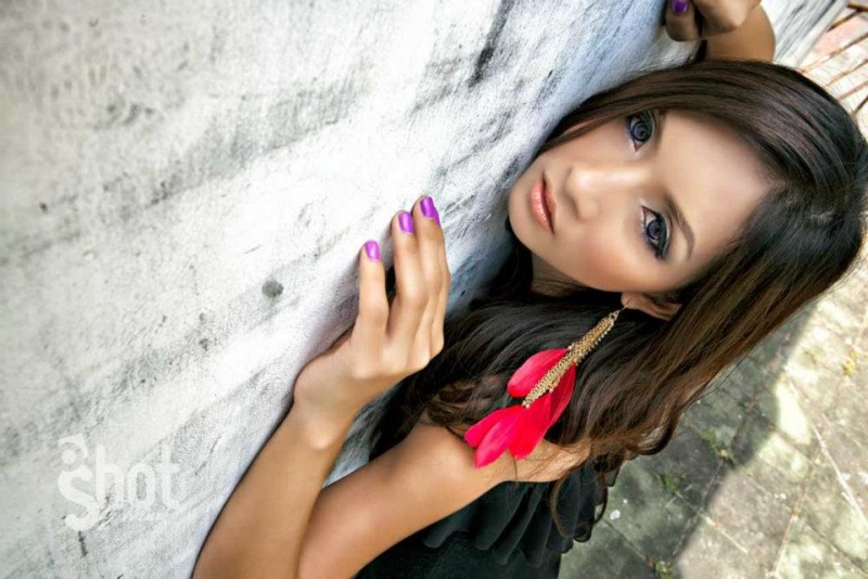 Female model photo shoot of somrutai sreenak by MarkYoung