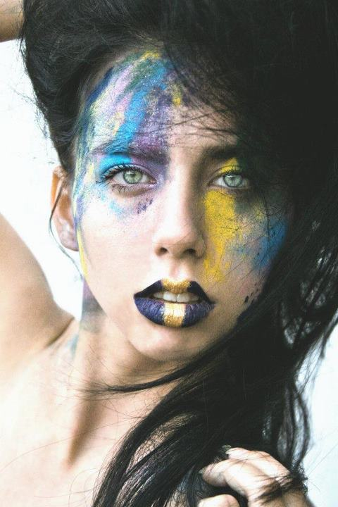 Female model photo shoot of SpaceKitty