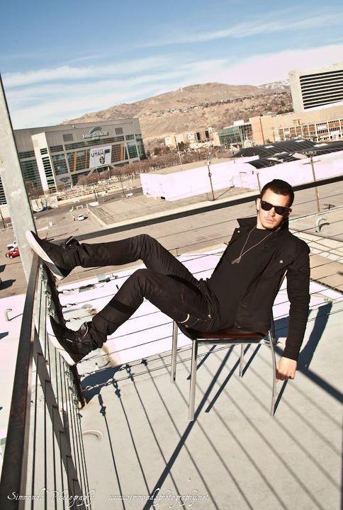 Male model photo shoot of Scottie James in Salt Lake City