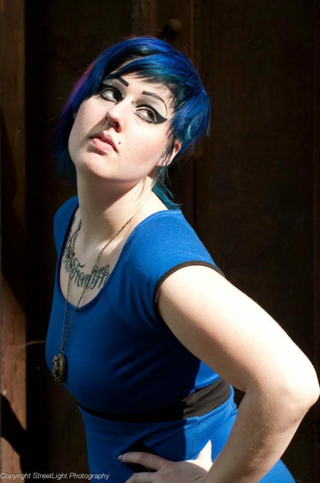 Female model photo shoot of Athena Invictus