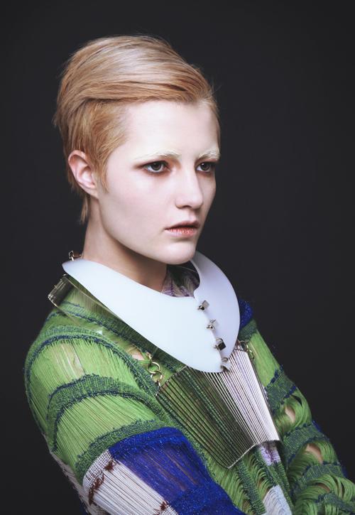 Female model photo shoot of flora dickie