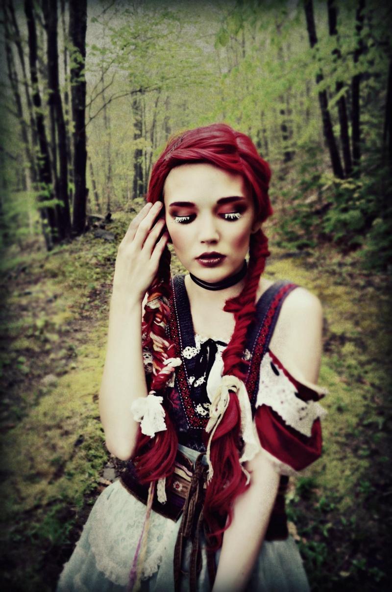 May 15, 2012 Model: Elizabeth Mod, Anna Mills. Photographer: Chloe Barcelou Hansel and Gretel shoot