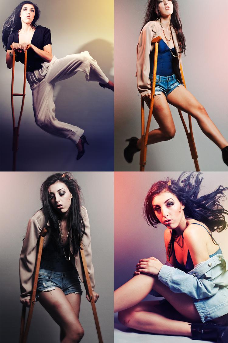 Female model photo shoot of Brittany Striplin and Tatiana Paris by David Levine Photo