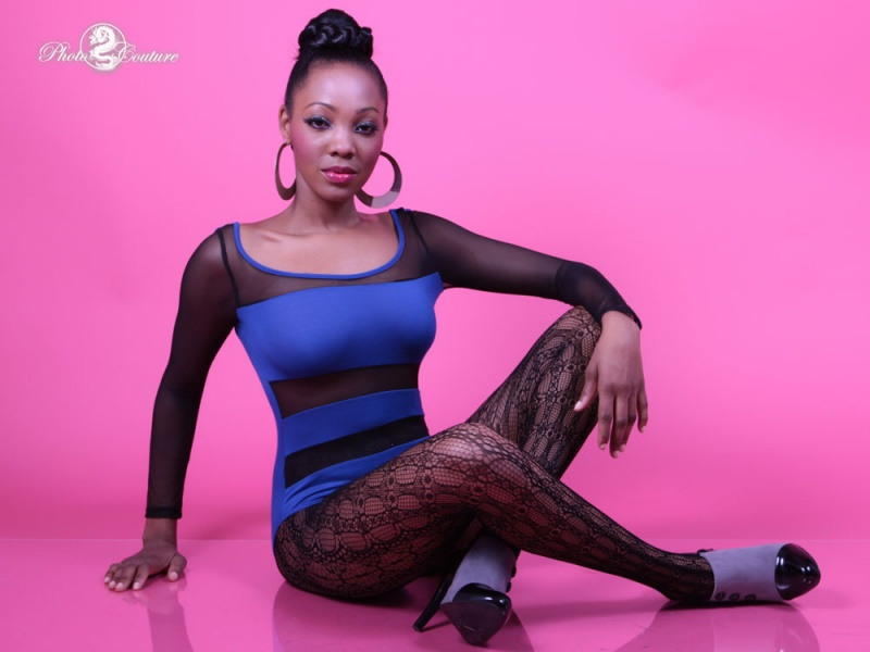 Female model photo shoot of Ronnie BayB by Photo Couture, makeup by BRUSHES TO THE FACE