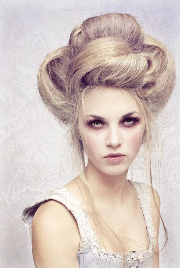 Female model photo shoot of K-M Retouching