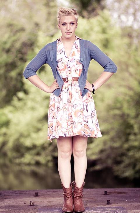 Female model photo shoot of corinne elizabeth heft in allentown, pa