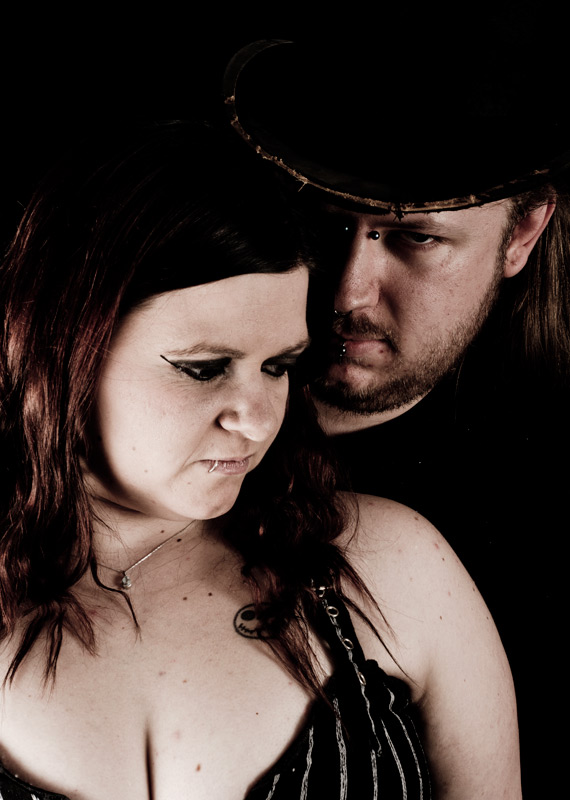 Male and Female model photo shoot of Loxliegh and Pixie_Rose