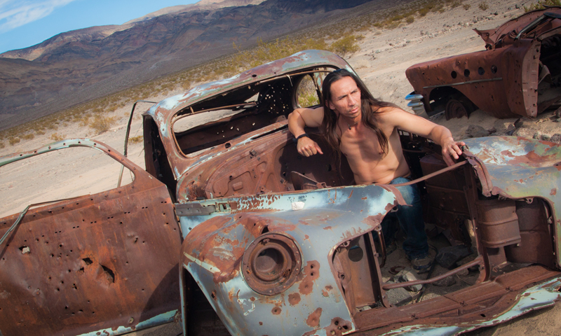 Male model photo shoot of BlueRoad Photography in Death Valley