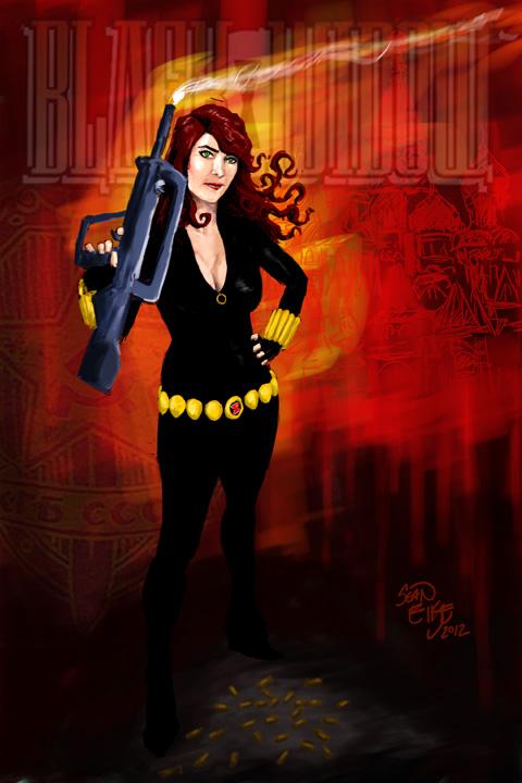 Des Moines, IA May 21, 2012 Sean Eike 2012. Black Widow copyright of Marvel Comics Black Widow-- Model: Jennifer (not on MM)