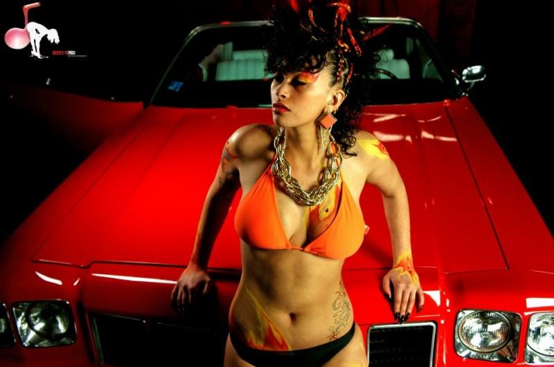 Female model photo shoot of Lady Londonn in Providence RI