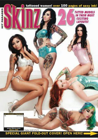 Los Angeles May 23, 2012 Ama Lea and Skinz Magazine My most recent cover