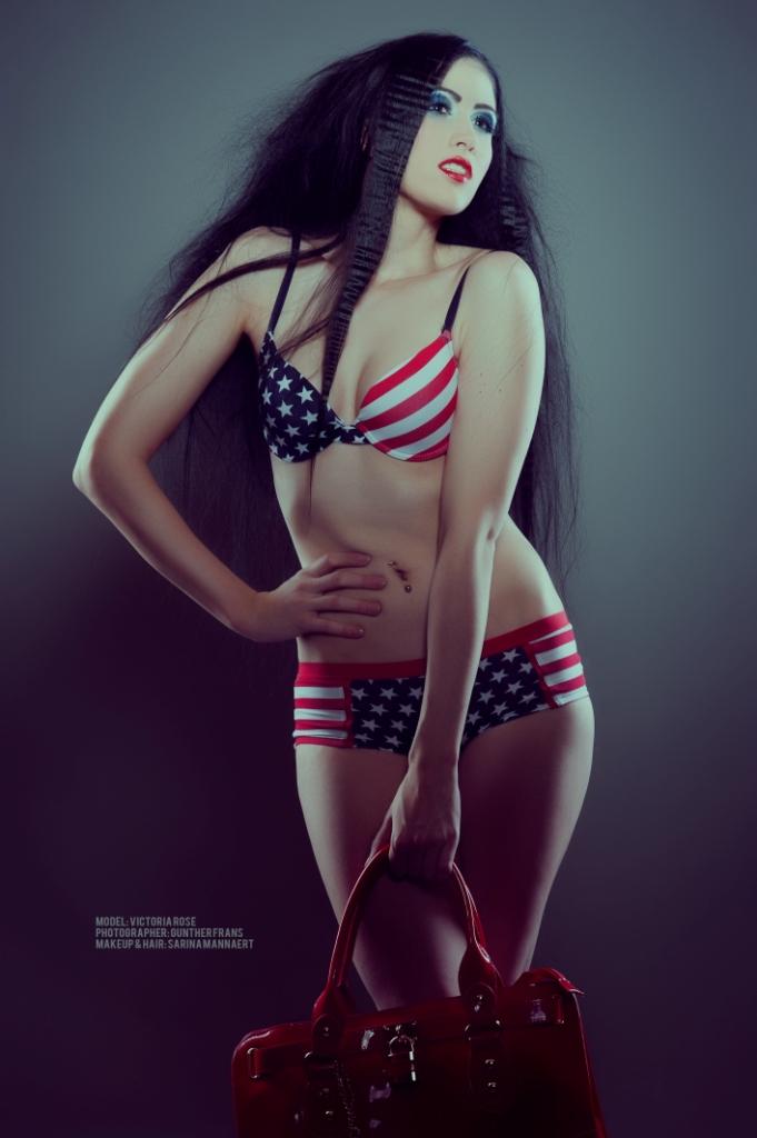 May 27, 2012 Gunther Frans, MU&Hair: Sarina Mannaert God Bless America