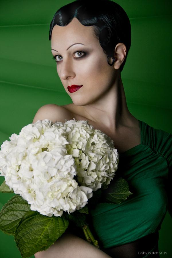 Female model photo shoot of Libby Bulloff in Exoskeleton Cabaret, '57 Biscayne, Seattle, WA