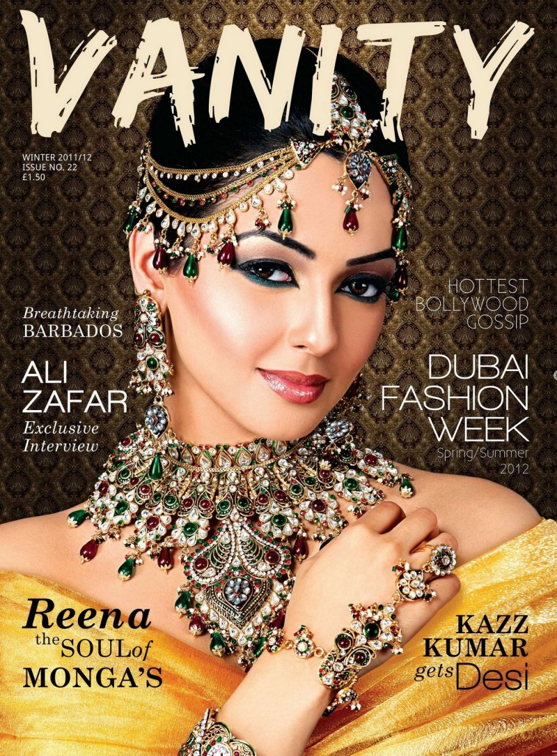 May 29, 2012 front cover by vanity magazine jewellery by rubys collection