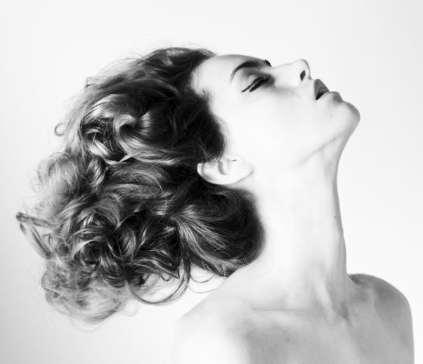 Female model photo shoot of Ambrosia Carey in Vancouver Studio