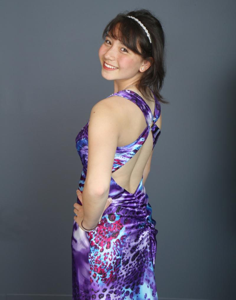 Milford May 30, 2012 Olek Kuperberg Gina in her prom dress