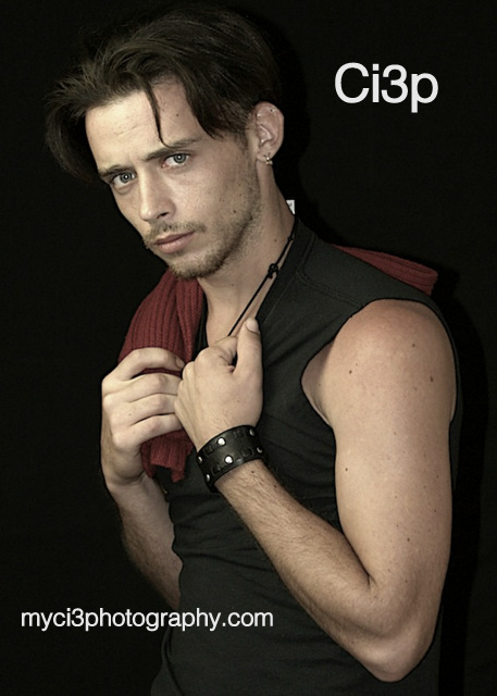 Male model photo shoot of Randy Sickels by ci3Photograpy in ci3p studio