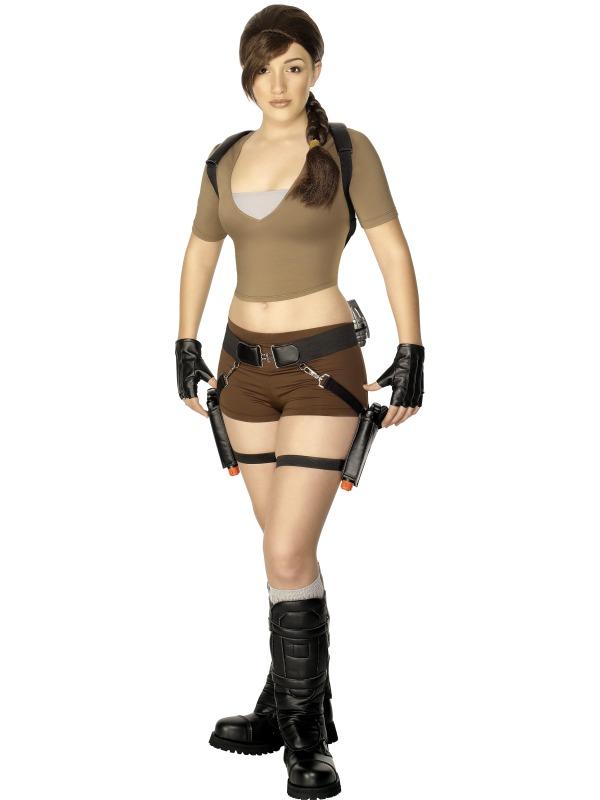 Jun 01, 2012 Smiffys Lara Croft Fancy-Dress Costume