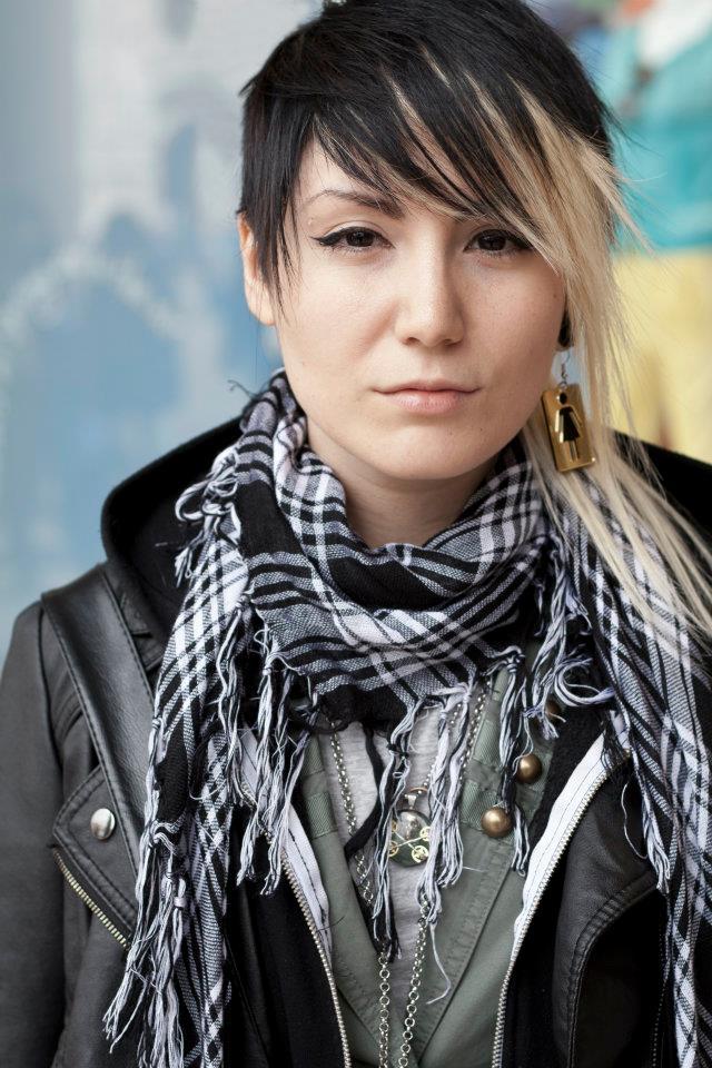 Female model photo shoot of N  a  M  i  K  o in Milano