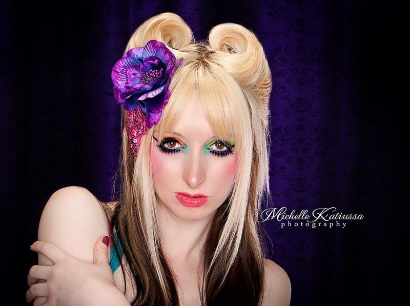 Female model photo shoot of Tiinia Auler MUAH in Plano, TX