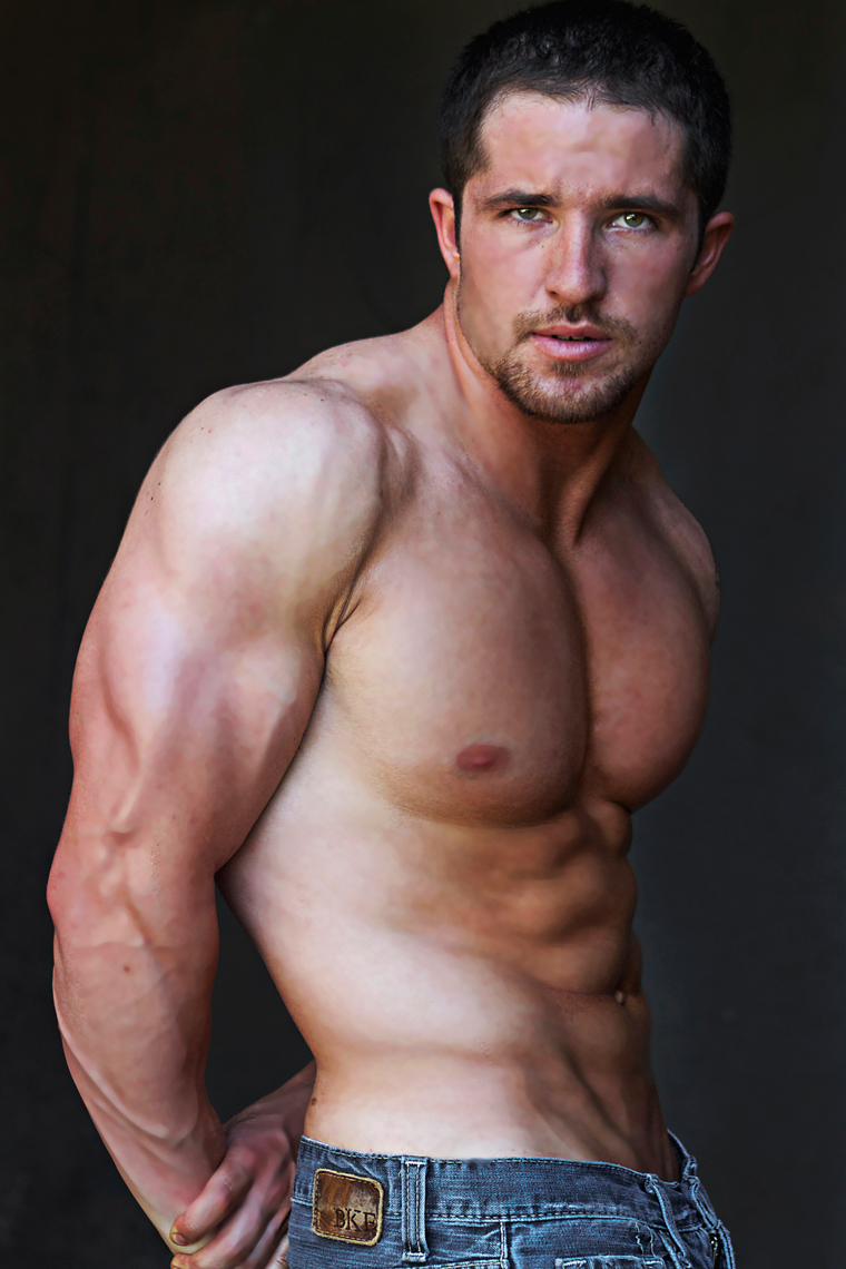 Male model photo shoot of Marshall 37 in Sherwood Oaks, Los Angeles