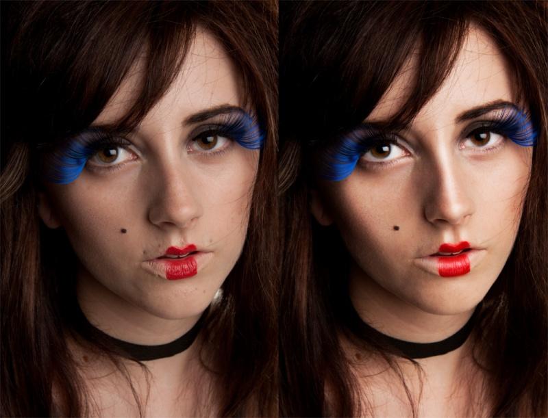 Female model photo shoot of Postergirl Retouching