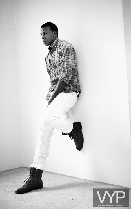 Male model photo shoot of Regis Price