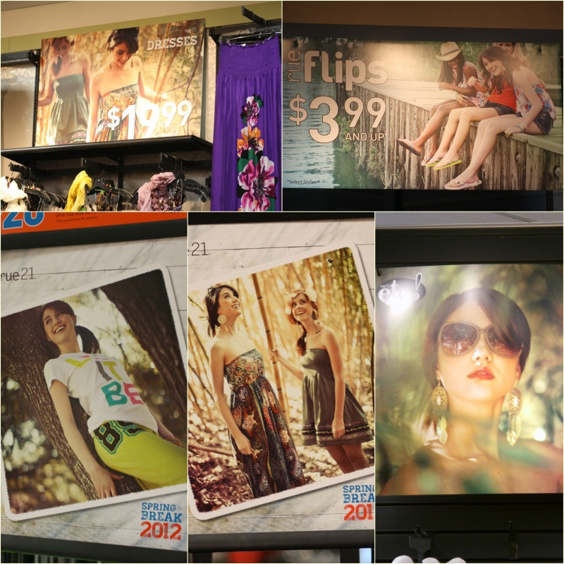 Jun 04, 2012 just a few of the in-store posters in rue21 (national campaign)