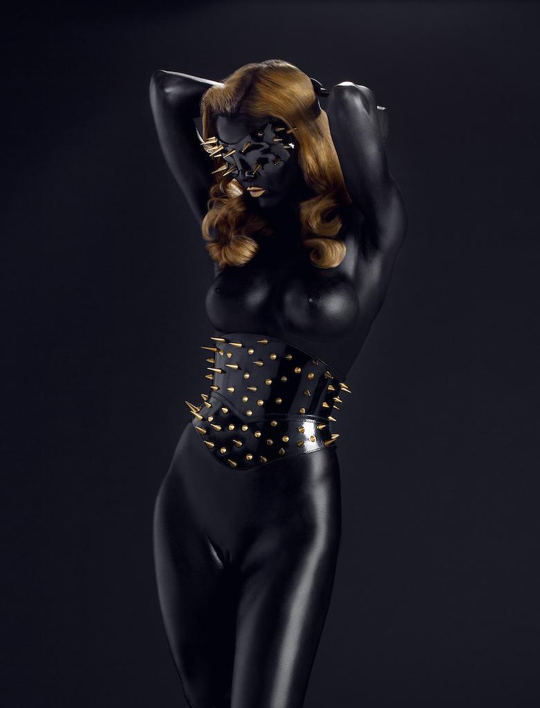 Jun 06, 2012 Michel Dierickx Miss Miranda wearing a Paul Seville Corset and mask