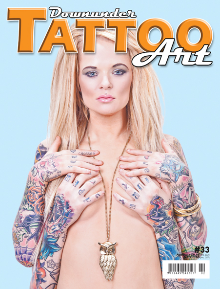 Jun 06, 2012 Model- Jackel Aitchison Photo by Peter Stanton, Mastertouch Downunder Tattoo Art issue 33