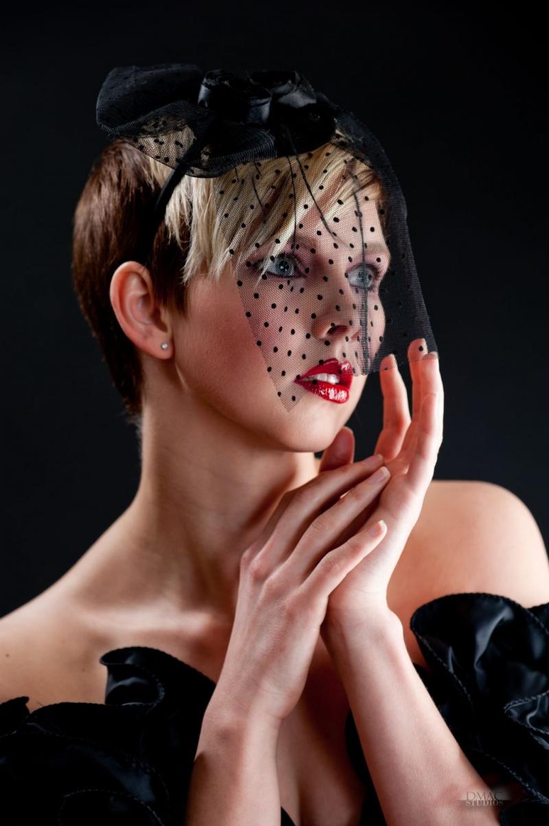 Female model photo shoot of DMacStudios Makeup in DMacStudios