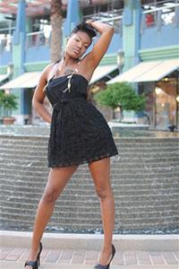 Female model photo shoot of Vertrell Jones