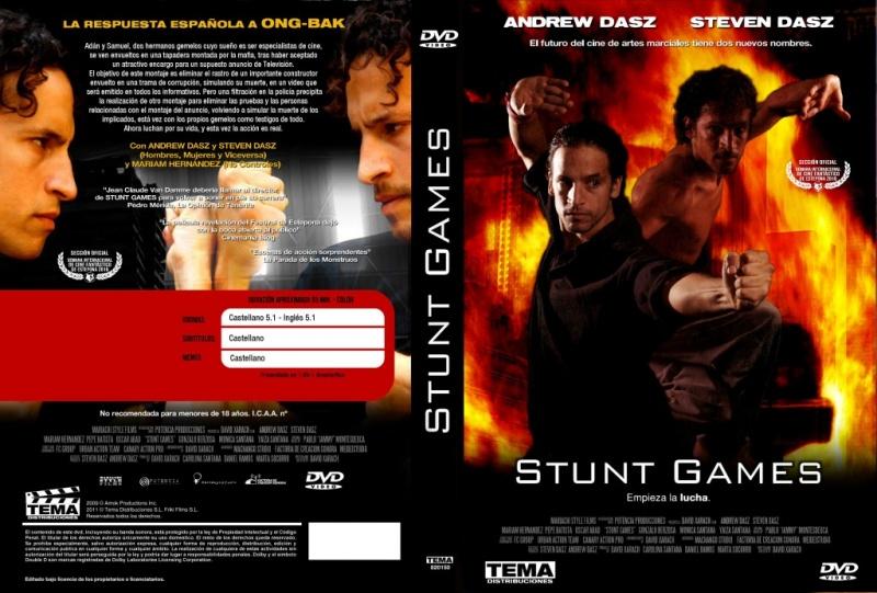 Madrid, Spain. Jun 09, 2012 Stunt Games DVD Different Photographers