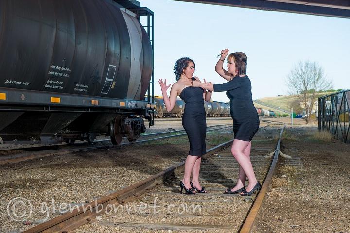 Female model photo shoot of Emily Huber and RavenDark92 by PenguinFoto
