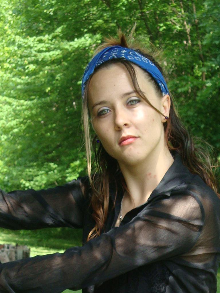 Female model photo shoot of Gyspy Magic in louisville kentucky