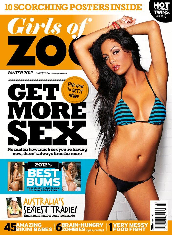 Sydney, AUSTRALIA Jun 12, 2012 acp magazines Girls of ZOO