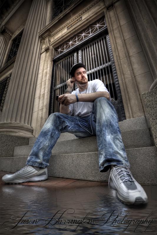 Male model photo shoot of xxstr8jacketxx
