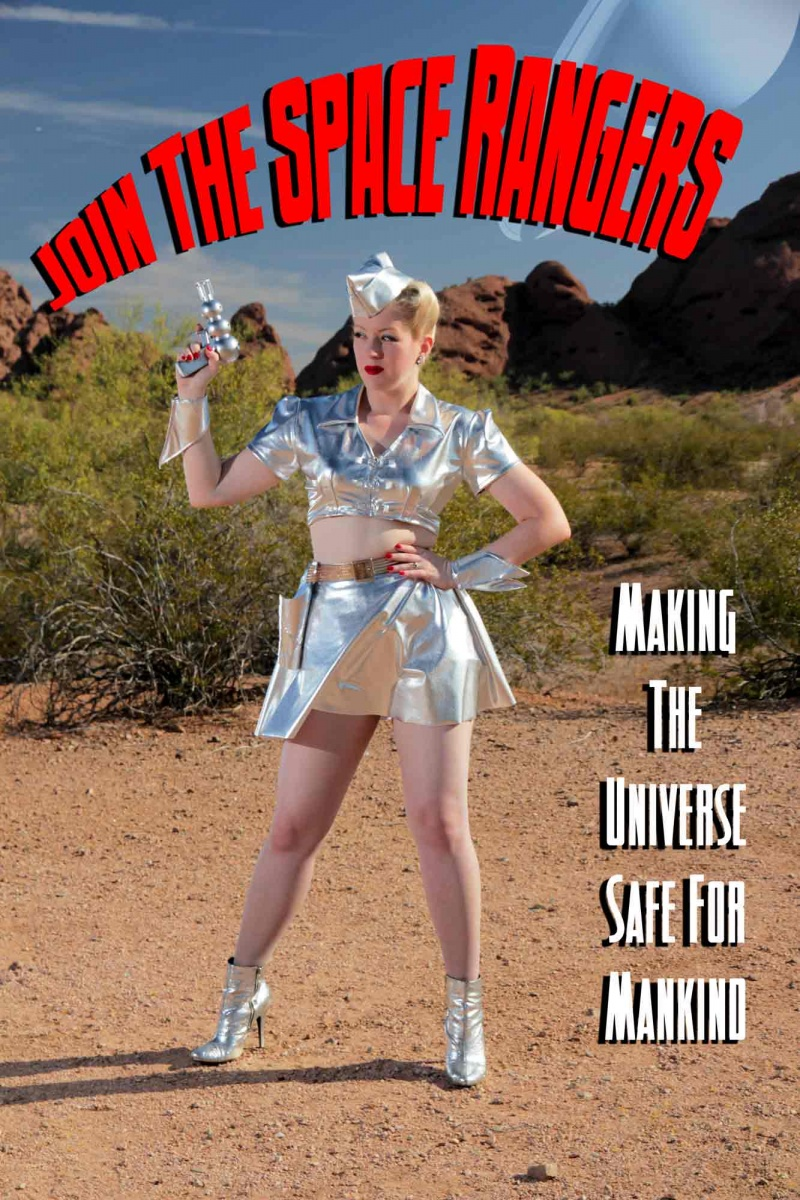 Phoenix, Arizona Jun 14, 2012 2012 Atomic Age Pictures Join The Space Rangers