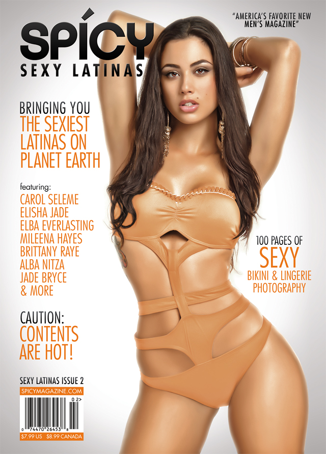 NYC Jun 14, 2012 2012 Spicy Magazine Spicy Issue #2 - Front Cover