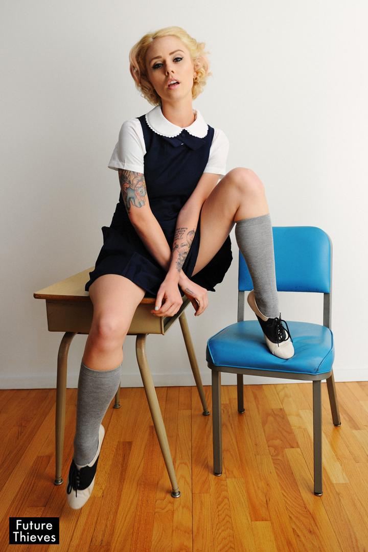 Jun 15, 2012 Future Thieves Alysha Nett (Schoolgirl)