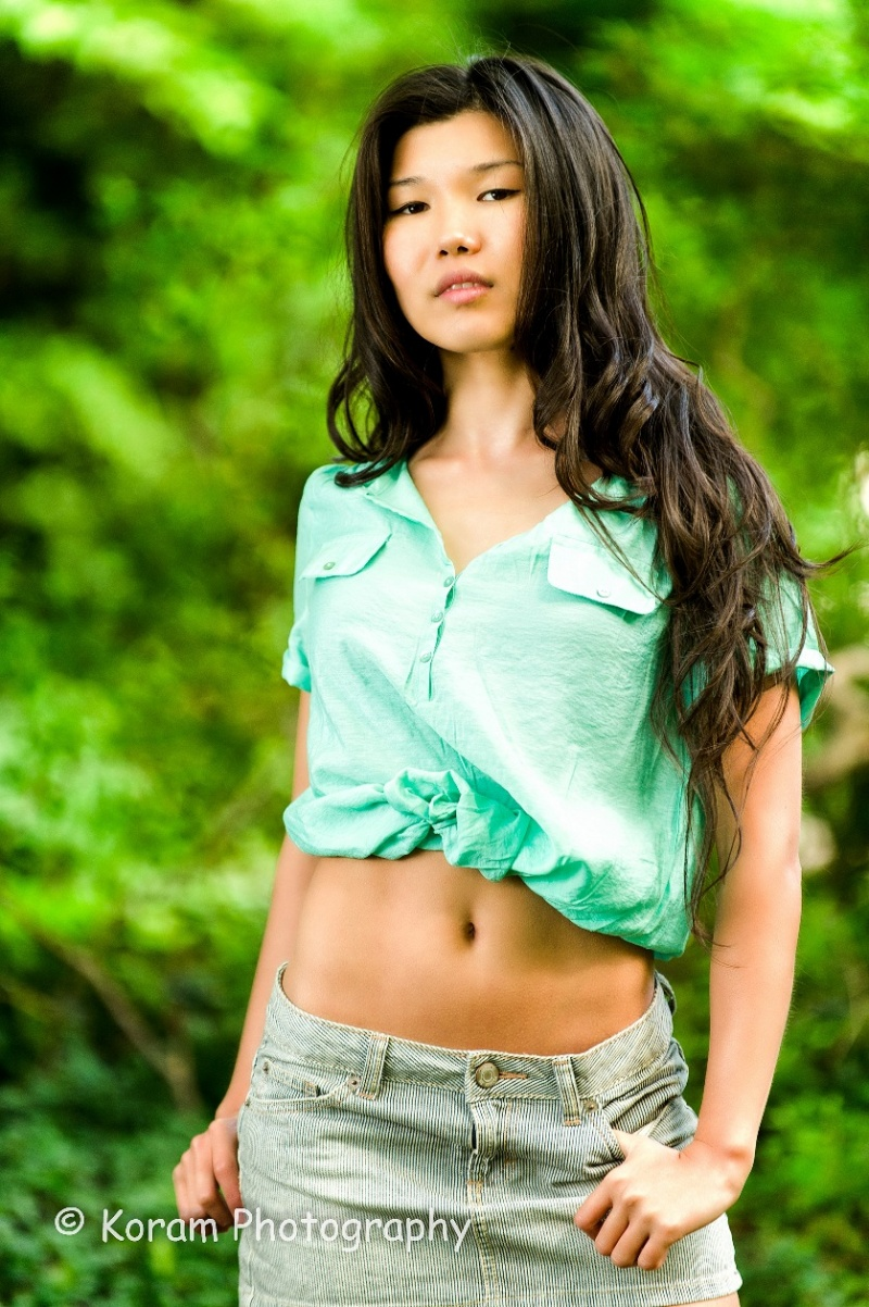 Female model photo shoot of Aijamal