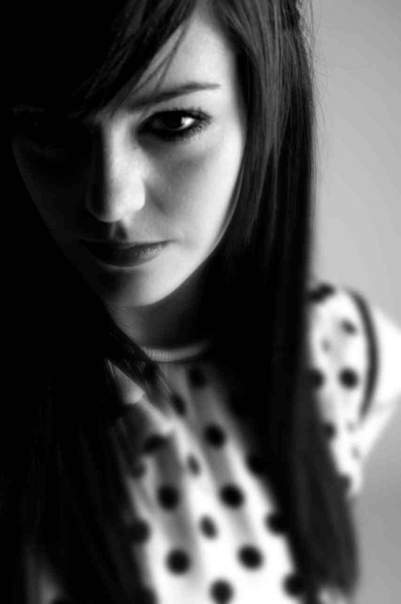 Female model photo shoot of StarBuck in Nottingham City Centre